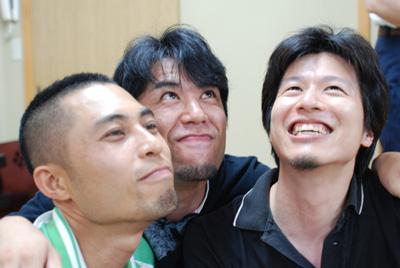 ひげ3兄弟